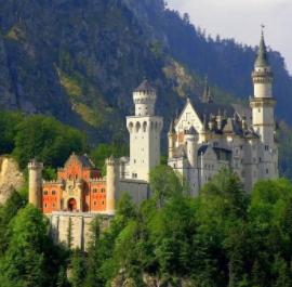 Salzburg-Neuschwanstein kastély