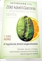 vital zöld kávé tabletta